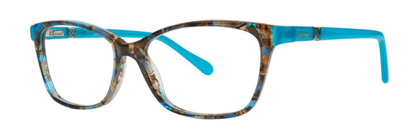 Lilly Pulitzer  - Bohdie  52mm Shell Tortoise Eyeglasses / Demo Lenses