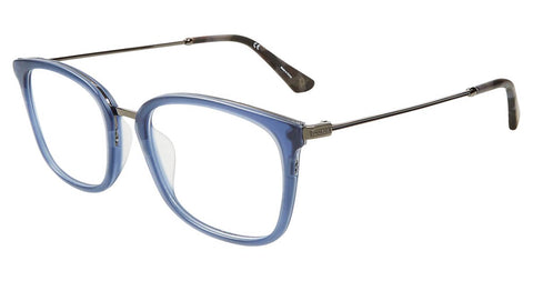 Police - VPL561 51mm Matte Transparent Blue Eyeglasses / Demo Lenses