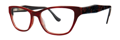Kensie - Lovely 53mm Red Eyeglasses / Demo Lenses