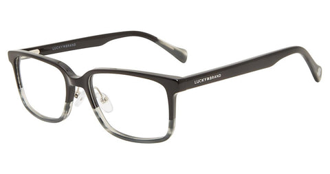 Lucky Brand - D816 49mm Black Grey Eyeglasses / Demo Lenses