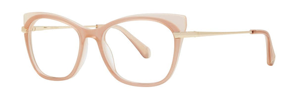Zac Posen - Chaka 51mm Blush Eyeglasses / Demo Lenses