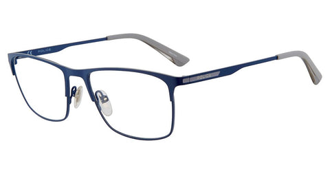 Police - VPL698 54mm Blue Eyeglasses / Demo Lenses