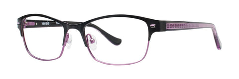 Kensie - Flawless 52mm Purple Eyeglasses / Demo Lenses