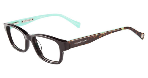 Lucky Brand - D705 46mm Black Eyeglasses / Demo Lenses