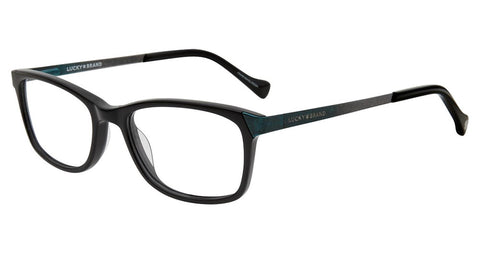Lucky Brand - D714 48mm Black Eyeglasses / Demo Lenses