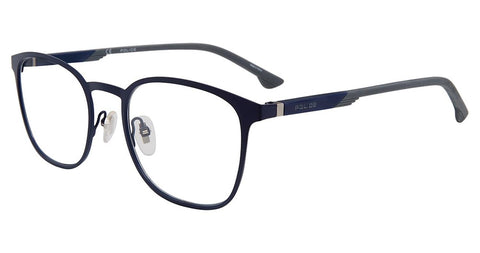 Police - VPL801 52mm Matte Blue Eyeglasses / Demo Lenses