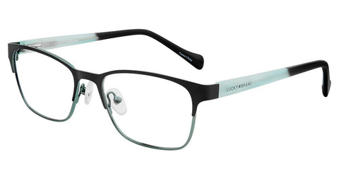 Lucky Brand - D715 49mm Black Eyeglasses / Demo Lenses