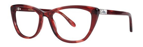 Vera Wang - Dea 54mm Red Eyeglasses / Demo Lenses