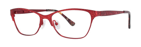 Kensie - Dreamy 52mm Spice Red Eyeglasses / Demo Lenses