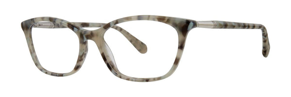 Zac Posen - Paloma 53mm Snow Tortoise Eyeglasses / Demo Lenses