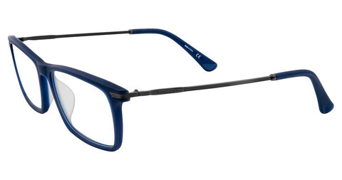 Police - VPL473 52mm Matte Blue Eyeglasses / Demo Lenses