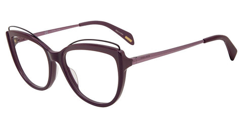 Police - VPL931 53mm Violet Shiny Lilac Eyeglasses / Demo Lenses