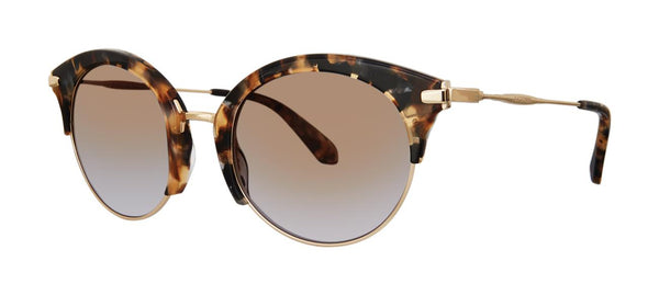 Zac Posen - Zadie 51mm Tortoise Sunglasses / Brown Smoke Gradient Lenses