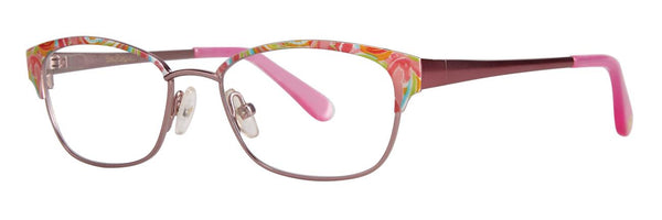 Lilly Pulitzer  - Morgana  45mm Pink Eyeglasses / Demo Lenses