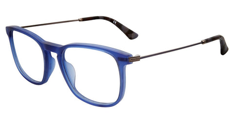 Police - VPL562N 51mm Matte Blue Eyeglasses / Demo Lenses