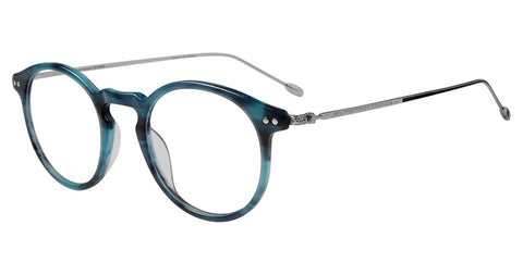John Varvatos - V377 48mm Blue Eyeglasses / Demo Lenses