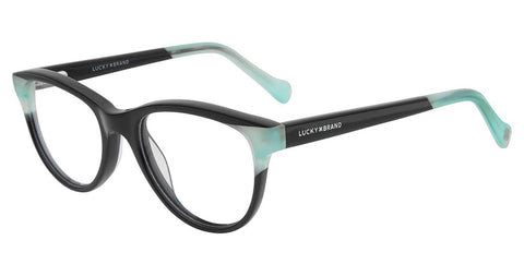 Lucky Brand - D711 47mm Black Eyeglasses / Demo Lenses