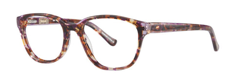 Kensie - Duo 53mm Purple Tortoise Eyeglasses / Demo Lenses