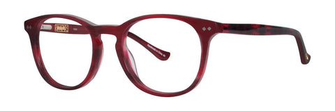 Kensie - Kind 51mm Red Eyeglasses / Demo Lenses
