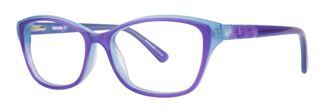 Kensie - Bubble 46mm Purple Eyeglasses / Demo Lenses