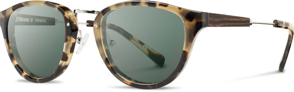 Shwood - Ainsworth Acetate Vintage Tortoise / G15 Polarized Sunglasses