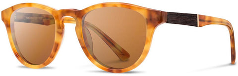 Shwood - Francis Acetate Amber / Brown Polarized Sunglasses