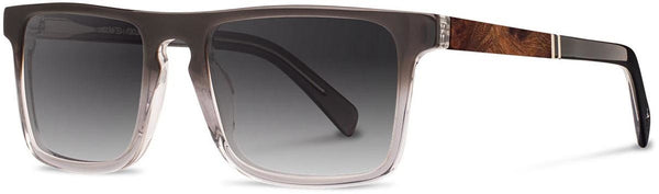 Shwood - Govy 2 Acetate Fog / Grey Fade Polarized Sunglasses