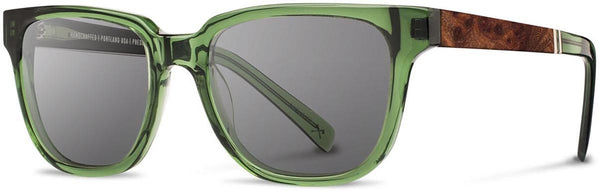 Shwood - Prescott Acetate Emerald / Grey Sunglasses