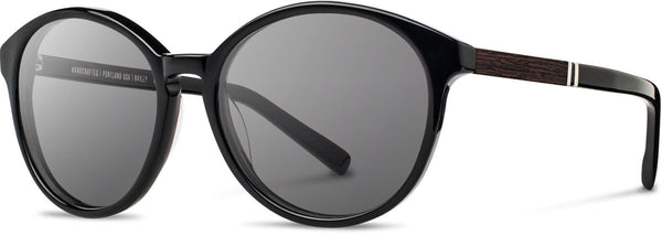 Shwood - Bailey Acetate Black / Grey Sunglasses