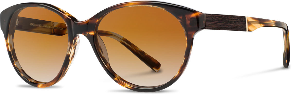 Shwood - Madison Acetate Tortoise / Brown Fade Polarized Sunglasses