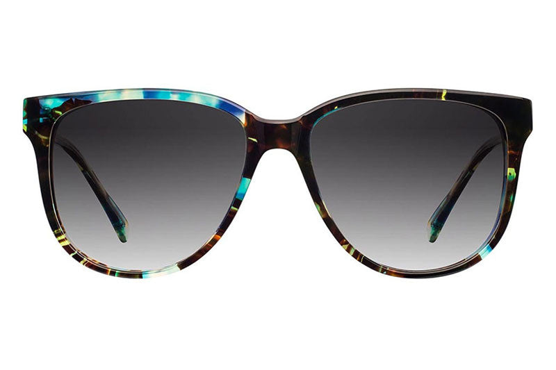 Shwood - Mckenzie Acetate Blue Opal / Grey Fade Polarized Sunglasses