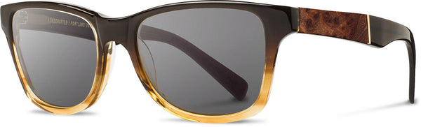 Shwood - Canby Acetate Sweet Tea / Grey Sunglasses