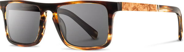Shwood - Govy 2 Acetate Tortoise / Grey Polarized Sunglasses
