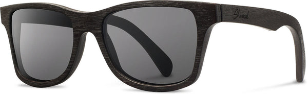 Shwood - Canby Dark Walnut / Grey Sunglasses