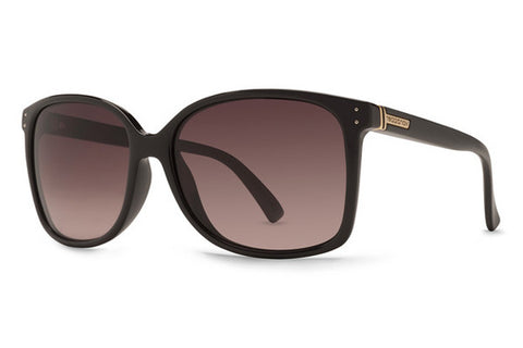 VonZipper - Castaway Black Crystal BCE Sunglasses, Gradient Lenses