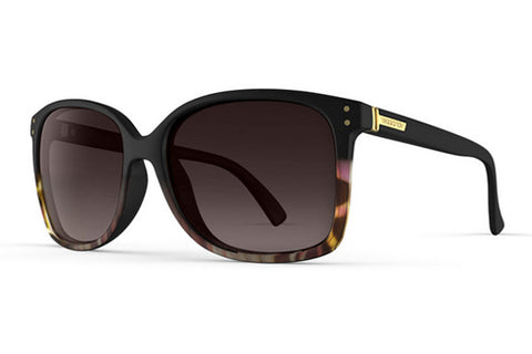 VonZipper - Castaway Muddled Raspberry BFR Sunglasses, Brown Gradient Lenses
