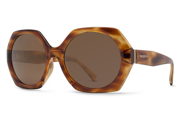 Von Zipper - Buelah Tortoise Gloss TRG Sunglasses, Gold Glo Lenses