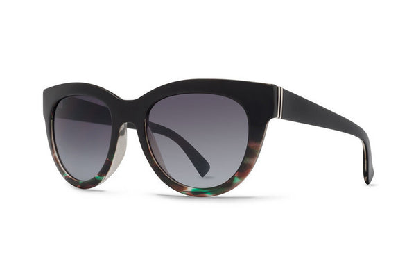 Von Zipper - Queenie Muddled Teal BLT Sunglasses, Brown Gradient Lenses