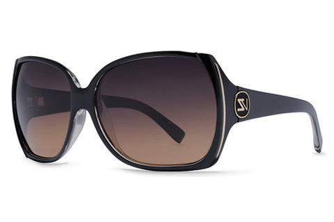 VonZipper - Trudie Black Crystal BCE Sunglasses, Gradient Lenses
