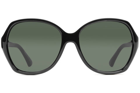 VonZipper - Bloom Black Gloss Sunglasses / Vintage Grey Gradient Lenses