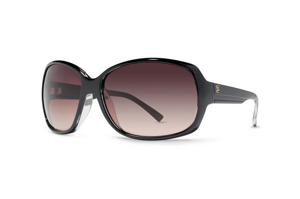 Von Zipper - Ling Ling Black Grystal BCE Sunglasses, Grey Brown Lenses