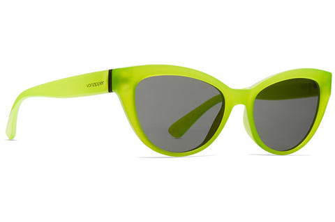 VonZipper - Ya Ya! Biohazard Satin Sunglasses / Grey Lenses