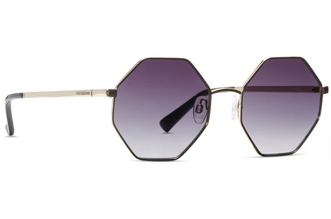 VonZipper - Pearl Gold Sunglasses / Grey Gradient Lenses