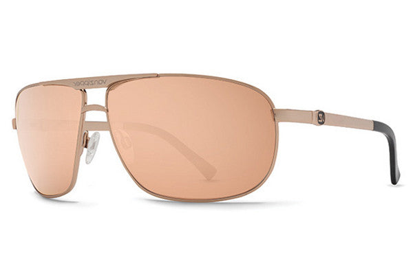 VonZipper - Skitch Rose RGC Gold  Sunglasses, Rose Gold Lenses