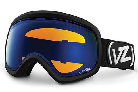 VonZipper - Skylab Black Satin BLW Goggles, Wildlife Low Light Lenses