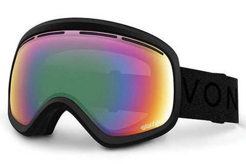 VonZipper - Skylab Black Satin BSW Goggles, Wildlife Lenses