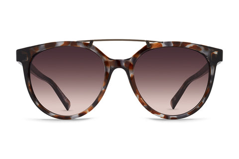 VonZipper - Hitsville Quartz Tort Sunglasses / Brown Gradient Lenses