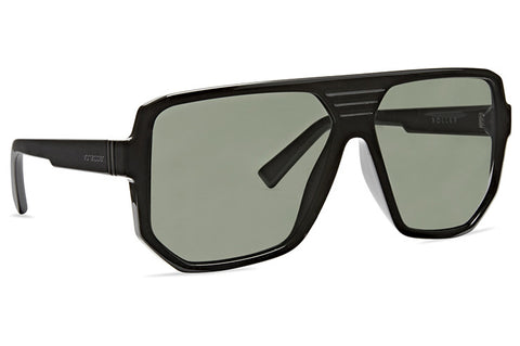 VonZipper - Roller Black Gloss Sunglasses / Vintage Grey Lenses
