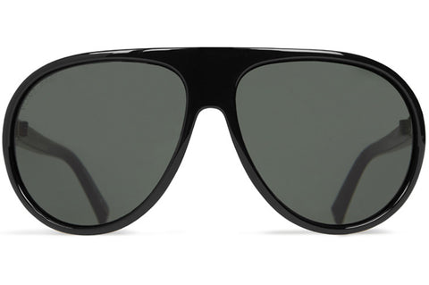 VonZipper - Rockford III Black Gloss Sunglasses / Vintage Grey Lenses