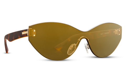 VonZipper - Alt Taffey Tortoise Sunglasses / Gold Chrome Lenses